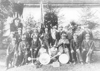 Vereinsbild um 1900