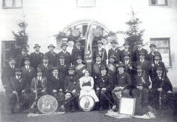Vereinsbild um 1925